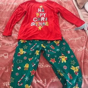 Other - Christmas Long Sleeve Pajamas